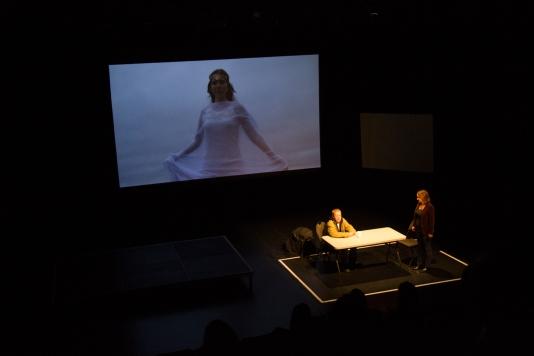 IMG_2580, Caro as Carowin, Mark and Wright, interrogation rm, Centurions wkshop, c2c theatre, October 2015